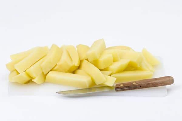 papas fritas deliciosas