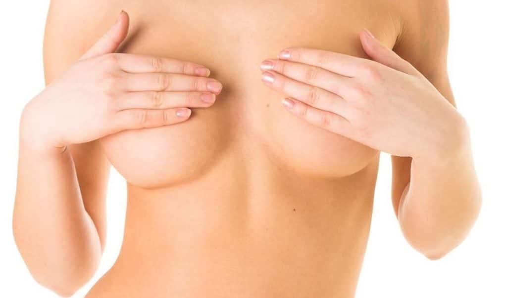 Masaje en los senos