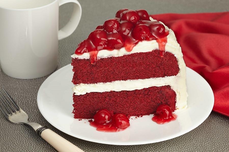 receta de pastel Red Velvet