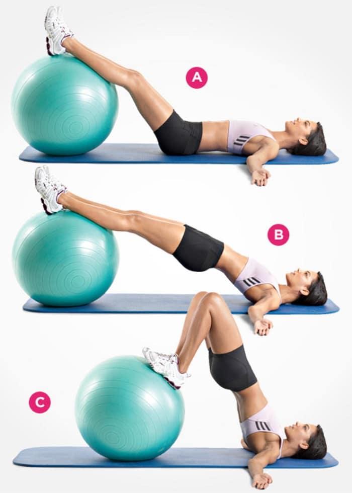 ejercicios para sacar glúteos y tener un abdomen plano