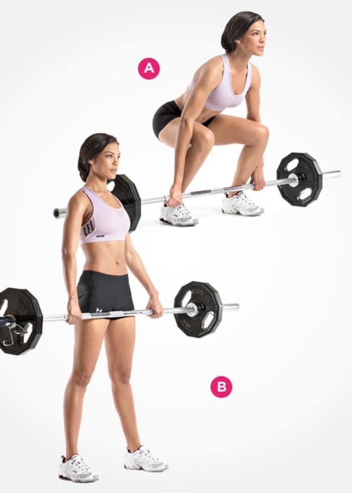 ejercicios para sacar glúteos y espalda