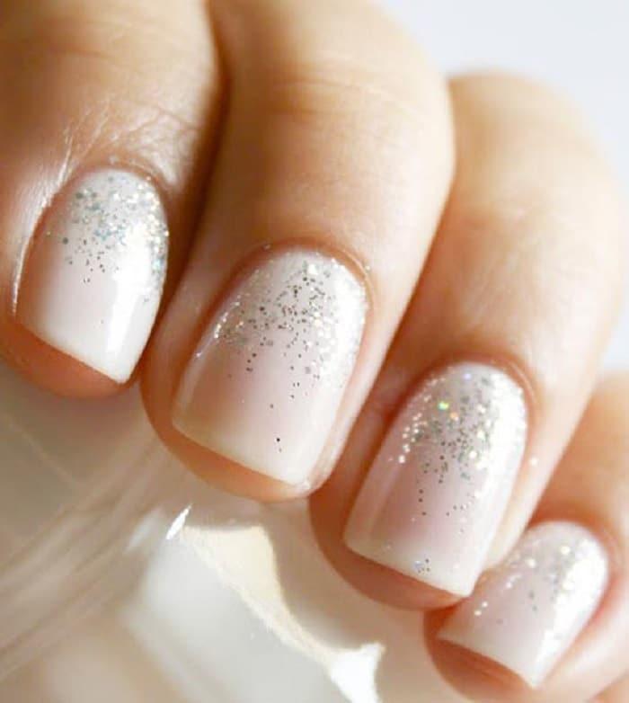 manicure para novias clasicas