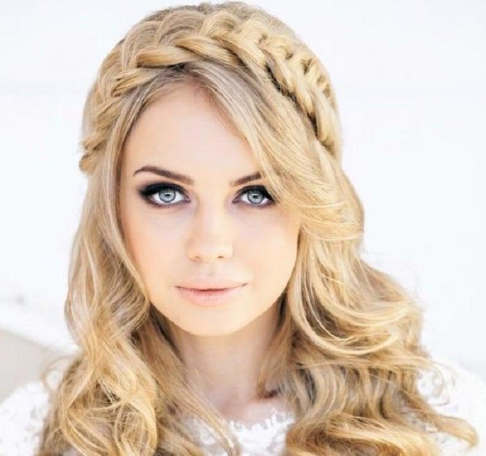 peinados con media melena