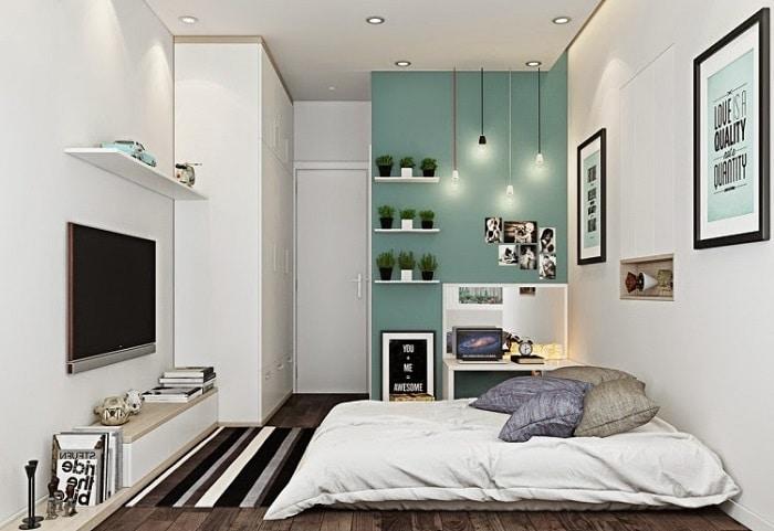 4 estilos de decoraci n para habitaciones peque as - Decoracion de habitaciones para parejas ...