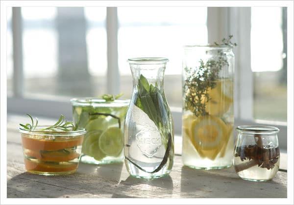 limones en agua para las malas energias