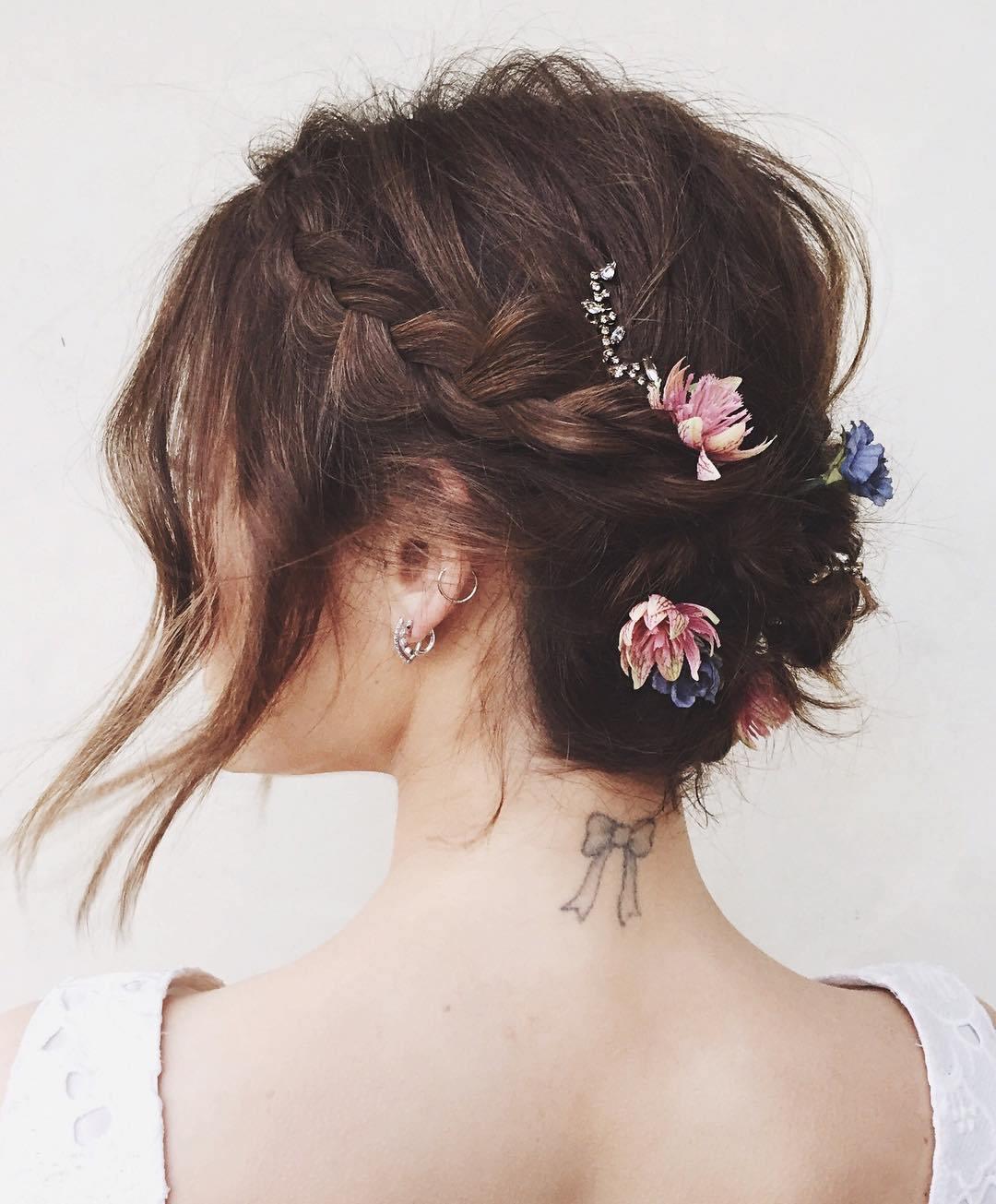 """Los mejores peinados recogidos de novia que te hacen decir """"Wow"""""""