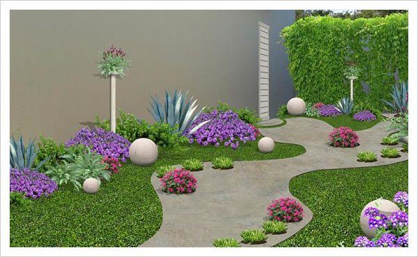 Sorpr ndete con estas hermosas opciones de jardines for Jardines pequenos para frentes de casas