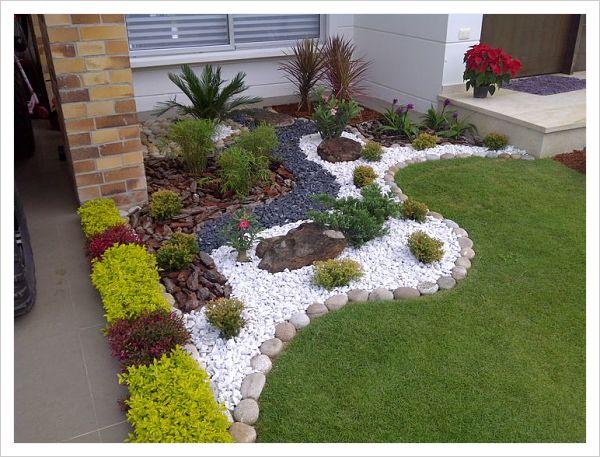 Sorpr ndete con estas hermosas opciones de jardines for Jardines pequenos con piedras
