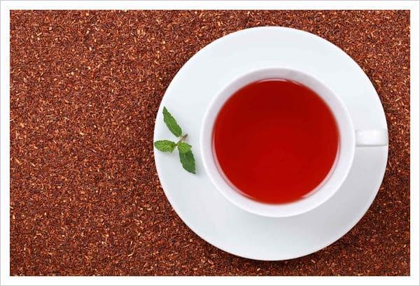 té rojo con canela