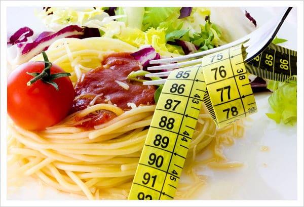 frutas y verduras con fibra