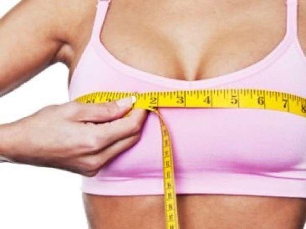 Cómo aumentar los senos de forma natural con dieta y ejercicios